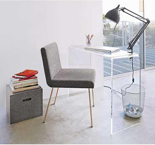 Mẫu bàn làm việc bằng nhựa BLVN-03