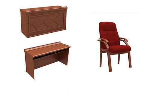Mẫu bàn ghế gỗ hội trườngBGGHT-04