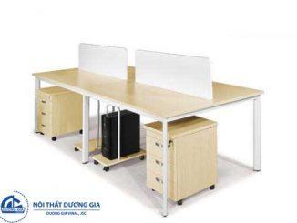 Bàn gỗ văn phòng làm việc đẹp và hiện đại BCO12-4