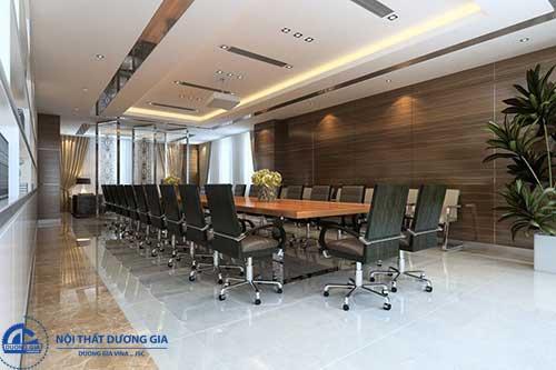 Thiết kế nội thất văn phòng hiện đại - Không gian phòng họp