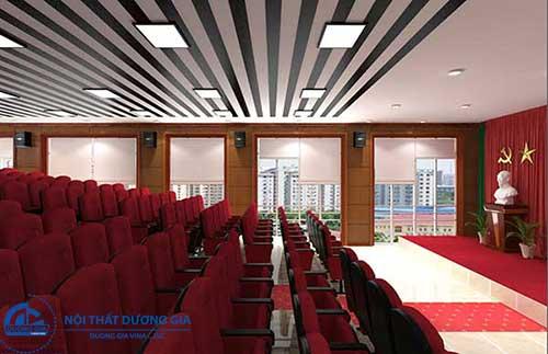 Tiêu chuẩn thiết kế hội trường 300 chỗ