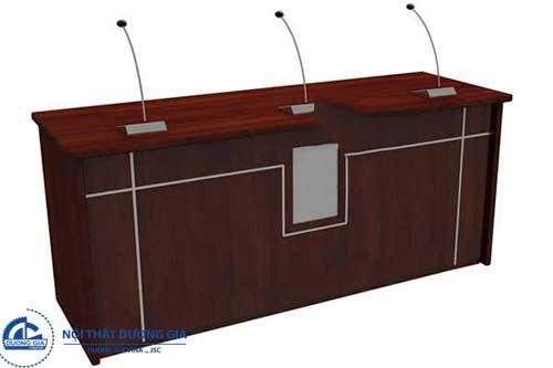 Bàn hội trường gỗ công nghiệpBHTDG4
