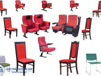Tổng hợp các mẫu ghế hội trường cao cấp, giá rẻ, kiểu dáng đẹp nhất