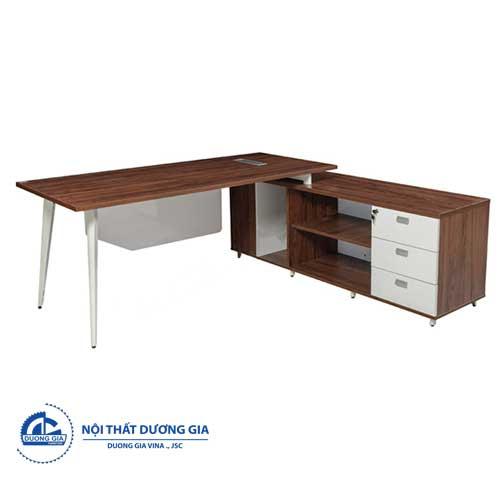 Mẫu bàn giám đốc hiện đại LUXP180C10