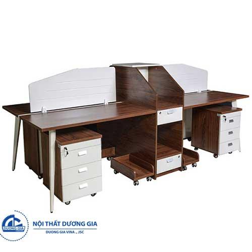 Mẫu bàn làm việc đẹp LUXMD02C10