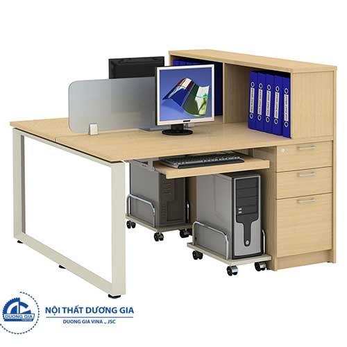 Mẫu bàn làm việc văn phòng hiện đại HRMD09