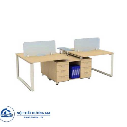 Mẫu bàn văn phòng đẹp, giá rẻ HRMD10