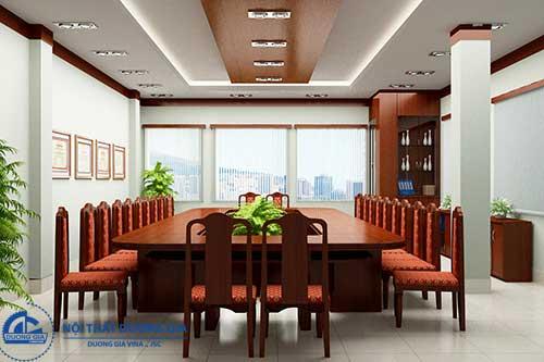 Mẫu thiết kế nội thất phòng họp đẹp số 6