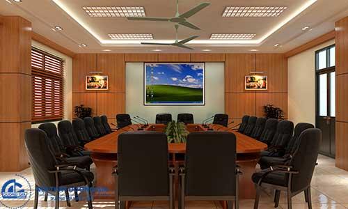 Mẫu thiết kế nội thất cho phòng họp hiện đại số 2