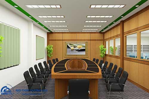 Mẫu thiết kế nội thất phòng họp sang trọng số 3