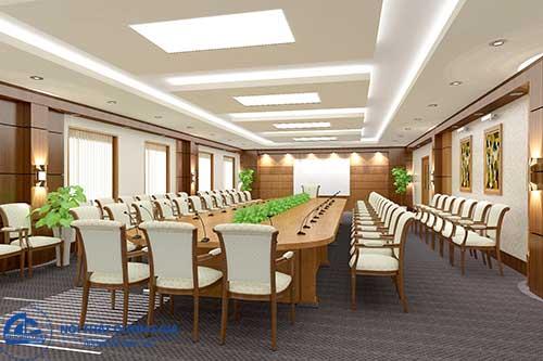 Mẫu thiết kế phòng họp đẹp số 4