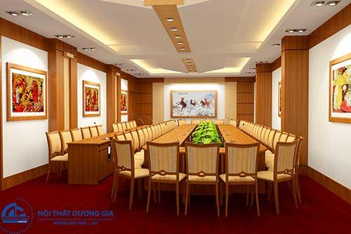 Mẫu thiết kế phòng họp đẹp số 1