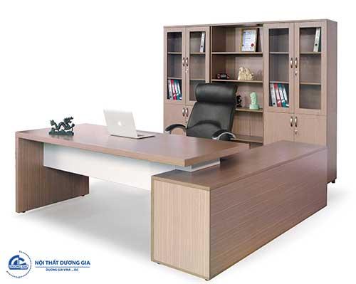Mẫu bàn Giám đốc 190 ấn tượng, trẻ trung BLD01