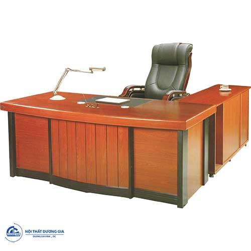 Cách bố trí bàn ghế nội thất phòng Giám đốc - bàn DT1890H3