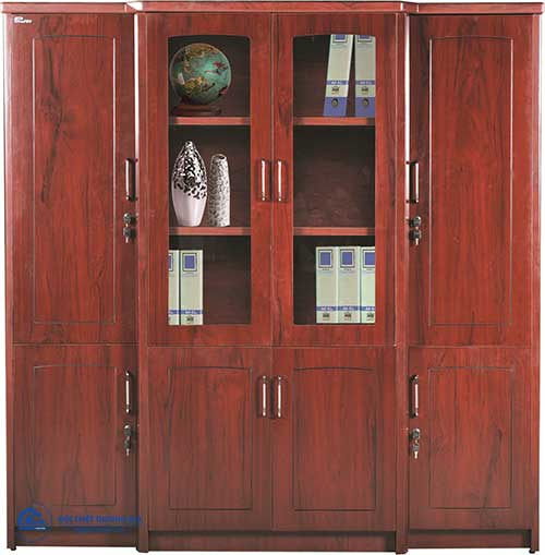 Bố trí tủ tài liệu trong thiết kế nội thất phòng làm việc Giám đốc - Tủ DC2000H9