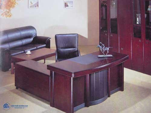 Mẫu bàn Giám đốc gỗ tự nhiên đẹp