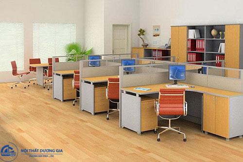 Cách sắp xếp bàn ghế trong phòng làm việc hướng đến sự độc lập