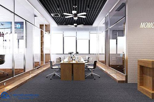 Sắp xếp bàn ghế trong phòng làm việc đề cao sự tương tác