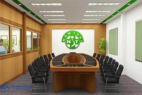 Nội thất phòng họp cần có kiểu dáng sang trọng