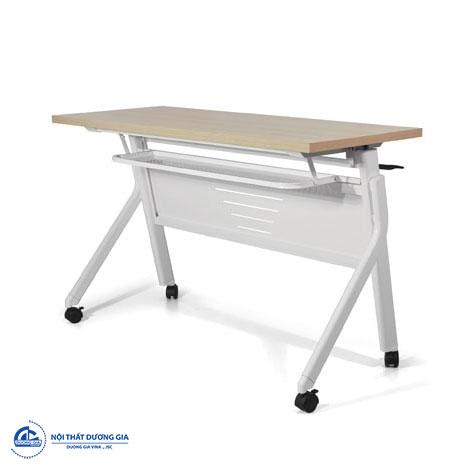 Mẫu bàn làm việc đẹp, hiện đại chân sắt - bàn BHL12B