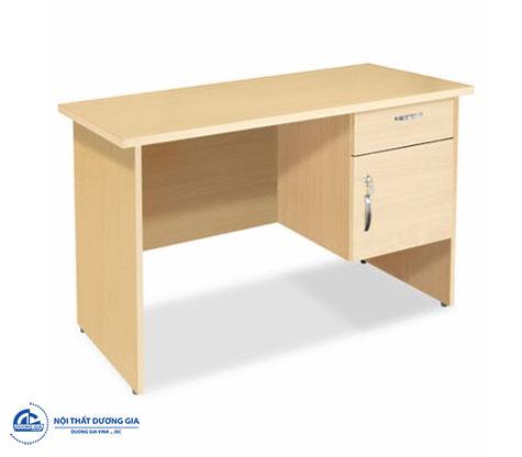 Mẫu bàn làm việc giá rẻ hình chữ nhật đơn giản - bàn BG05B