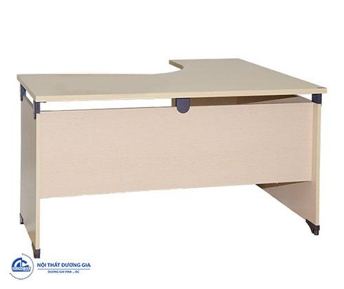 Mẫu bàn làm việc văn phòng giá rẻ hình chữ L - bàn NTL14