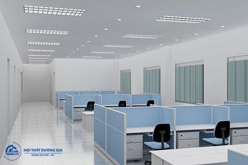 Kiểu dáng sản phẩm ảnh hưởng tới báo giá vách ngăn văn phòng làm việc
