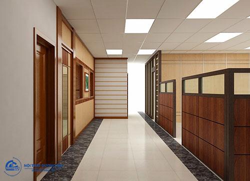 Giá bán vách ngăn văn phòng phụ thuộc vào chất liệu