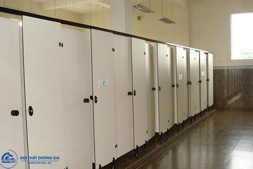 Là đơn vị cung cấp các mẫu vách ngăn nhà vệ sinh chính hãng