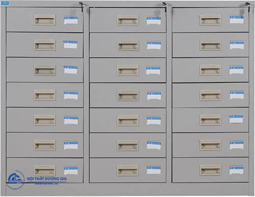 Mẫu tủ hồ sơ văn phòng thiết kế nhiều ngăn TU8-21D
