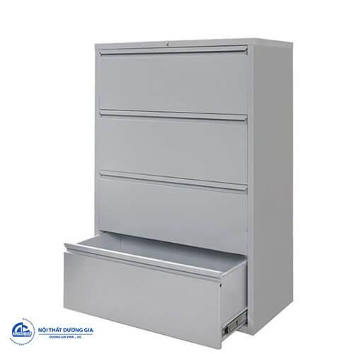 Mẫu tủ văn phòng giá rẻ TU4FN