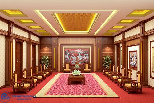 Thiết kế nội thất phòng khánh tiết cần chú ý tới tính thẩm mỹ, sự sang trọng