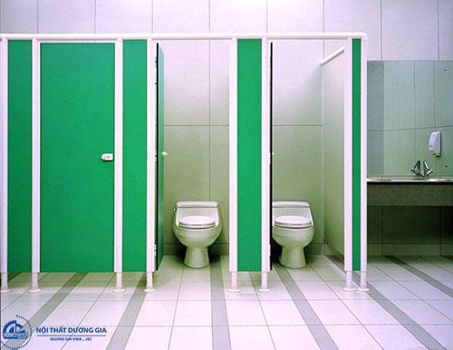 Vách ngăn khu vệ sinh giá rẻ
