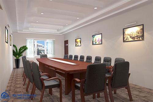 Thiết kế phòng họp công ty giá rẻ