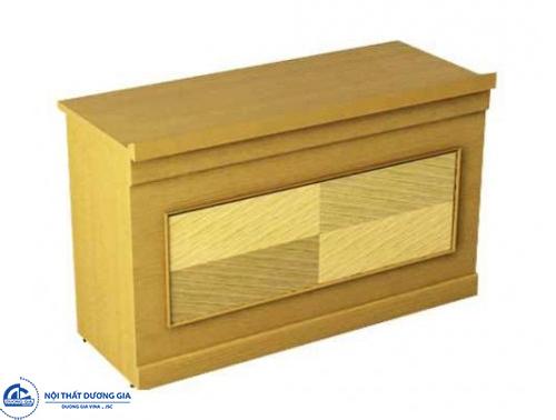 Bàn gỗ hội trường thiết kế hiện đại BHT12DV1