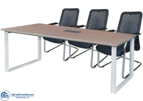 Bộ bàn ghế phòng họp đẹp: bàn HRH1810C5 - ghế GL411