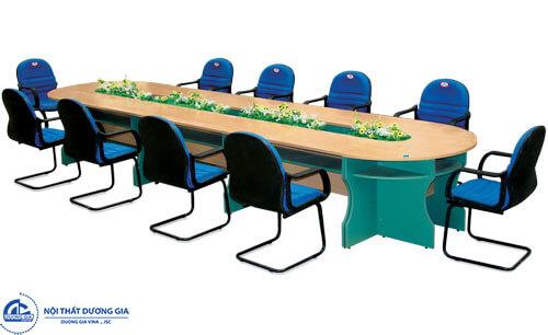 Bộ bàn ghế phòng họp trẻ trung: bànSVH5115 - ghế SL712S