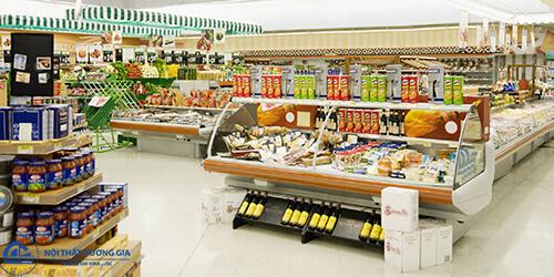 Mẫu thiết kế siêu thị nhỏ tiện dụng số 4
