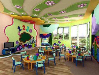 Thiết kế nội thất trường học thế nào để học sinh háo hức tới lớp?