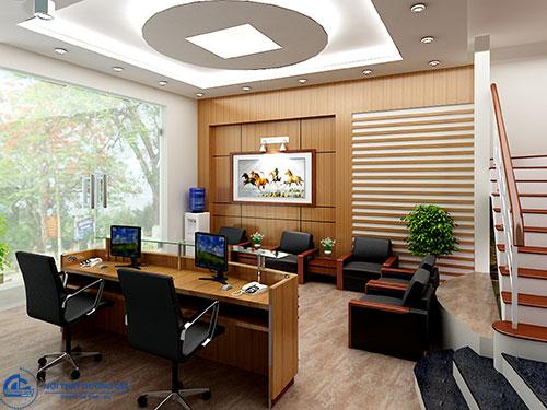 Thiết kế văn phòng luật sư giúp khách hàng tin tưởng và dễ dàng chia sẻ hơn