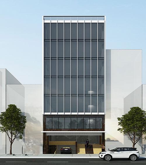 Thiết kế tòa nhà văn phòng với phong cách phù hợp