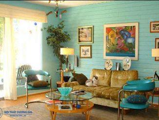 5 đặc trưng cơ bản của phong cách nội thất retro mà bạn cần biết