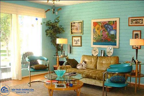 Phong cách nội thất retro là gì?