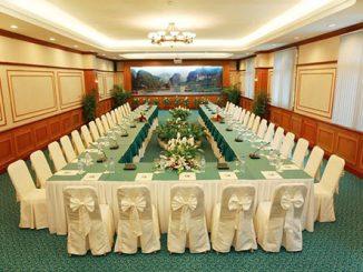 Tiêu chuẩn về cách sắp xếp phòng hội nghị khi thiết kế nội thất