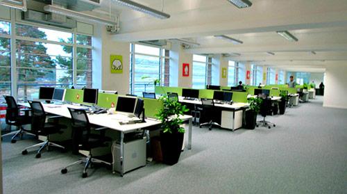 Thiết kế phòng làm việc nhân viên với phong cách phù hợp