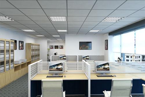 Mẫu thiết kế văn phòng nhỏ tiện nghi