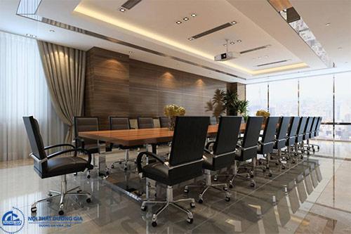 Báo giá bộ bàn ghế họp văn phòng phụ thuộc vào nhà cung cấp