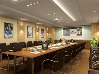 Công ty thiết kế nội thất phòng họp đẹp, chuyên nghiệp tại Hà Nội