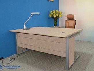 5 mẫu bàn văn phòng bằng gỗ giá rẻ được dùng phổ biến nhất hiện nay
