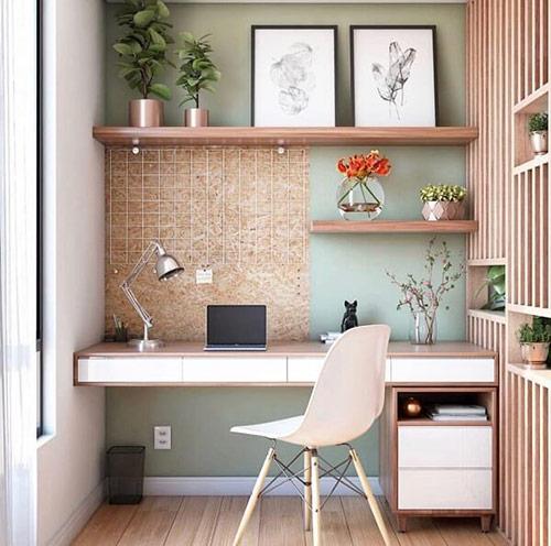 Mua bàn làm việc trong phòng ngủ hẹp đảm bảo chất lượng